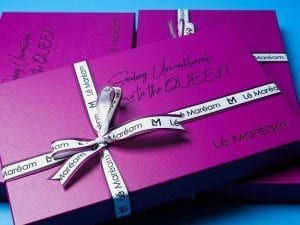"EXCLUSIVE BOX ""Sending Unconditional Love to the Queen"""