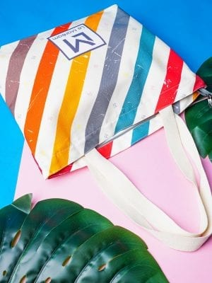 LM BABY BAG – THE STRIPPY VERSION